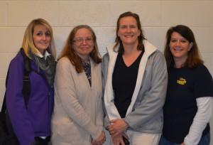 L-R: Jessica West -Treasurer, Suzanne Waskiewcz - Vice President, Denise Devine - President, Diane Kieras-Ciolkos